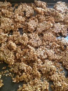 Flax seed granola anyone?